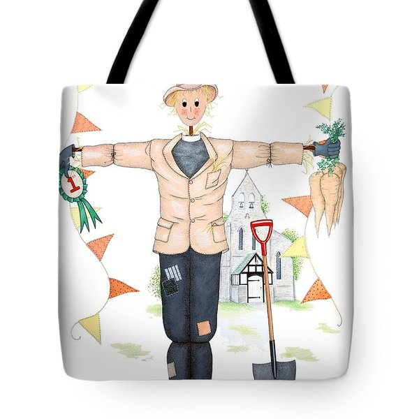 Parson Scarecrow Tote Bag by Sandra Moore