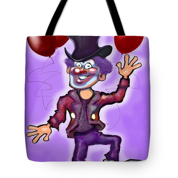 Party Clown Tote Bag by Kevin Middleton