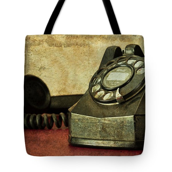 Party Line Tote Bag by Tom Mc Nemar