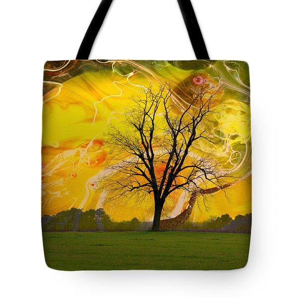 Party Skies Tote Bag by Jan Amiss Photography