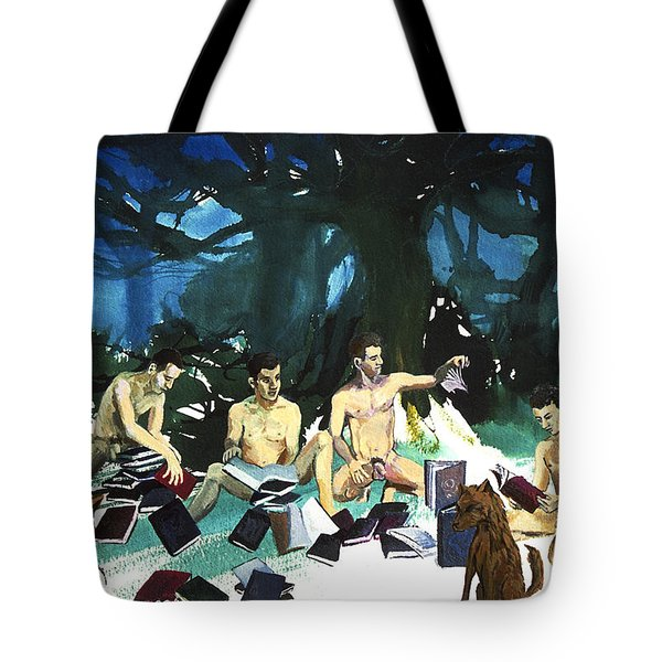 Passages  Tote Bag by Rene Capone