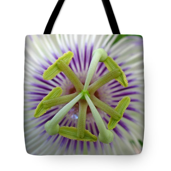 Passion Flower Tote Bag by Juergen Roth