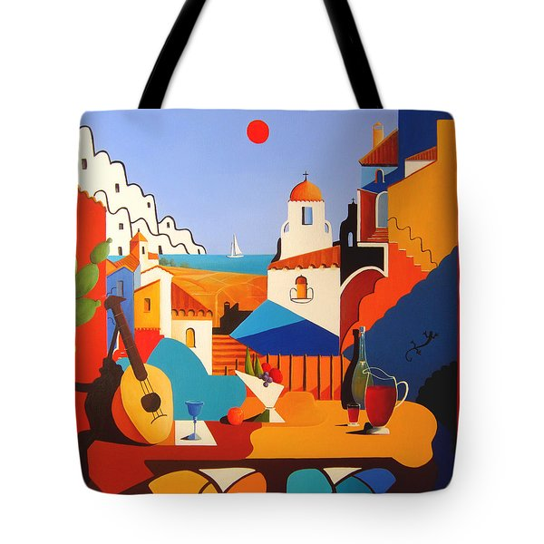 Passion For Life Tote Bag by Joe Gilronan