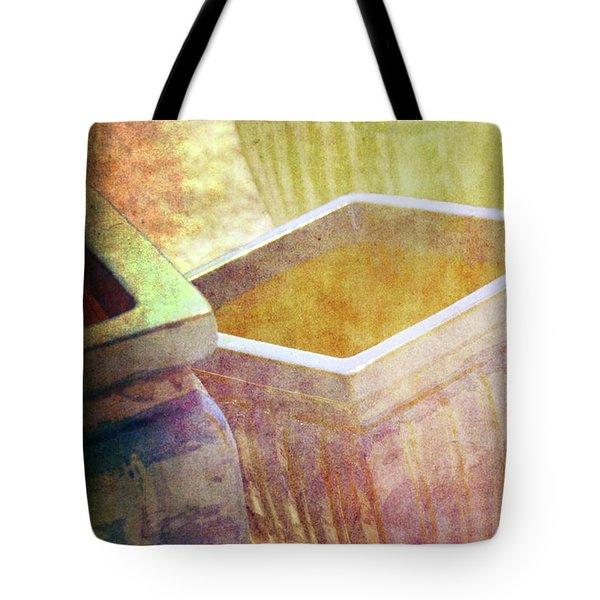 Pastel Pottery Tote Bag by Susanne Van Hulst