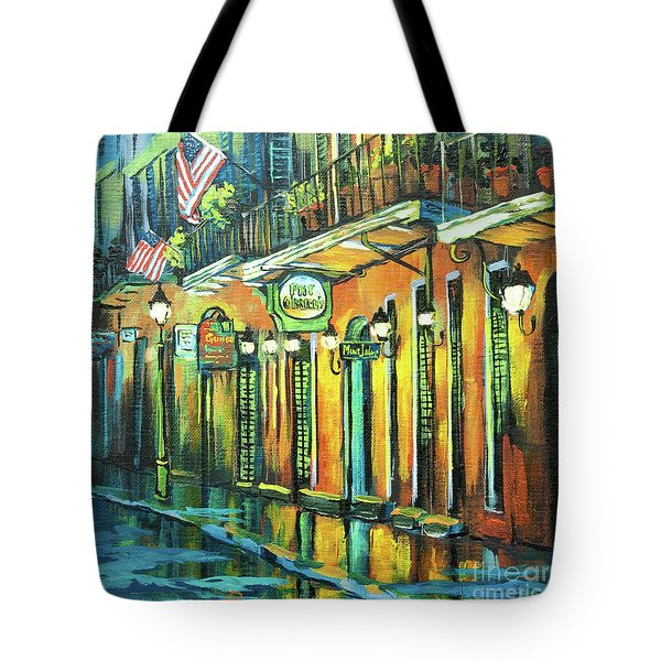 Pat O Briens Tote Bag by Dianne Parks
