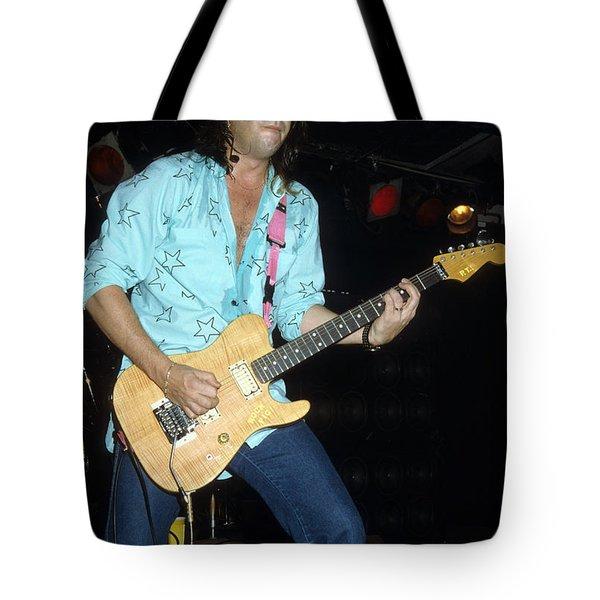 Pat Travers Tote Bag by Rich Fuscia
