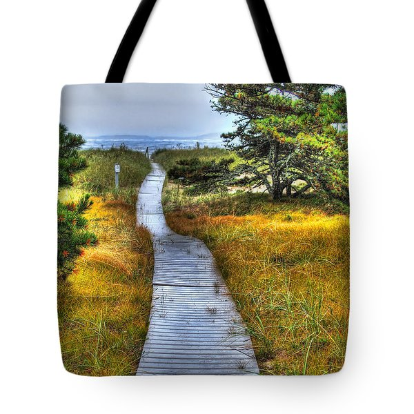 Path To Bliss Tote Bag by Tammy Wetzel