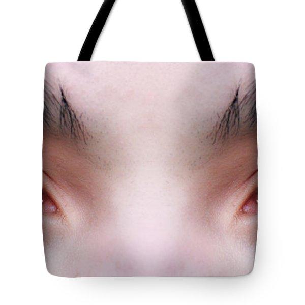 Patriotic Eyes Tote Bag by James BO  Insogna