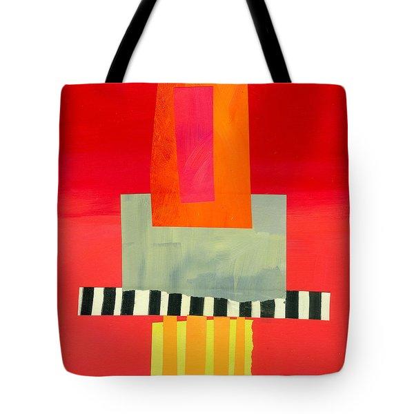 Pattern Grid # 14 Tote Bag by Jane Davies