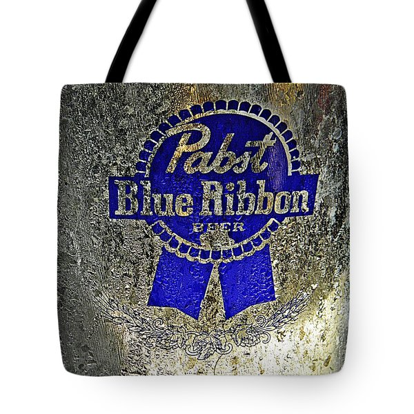 PBR  Bucket O Beer  Tote Bag by Chris Berry