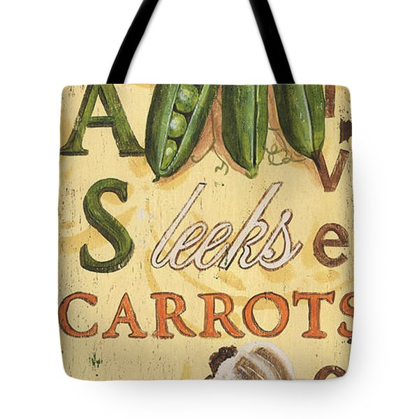 Pea Soup Tote Bag by Debbie DeWitt