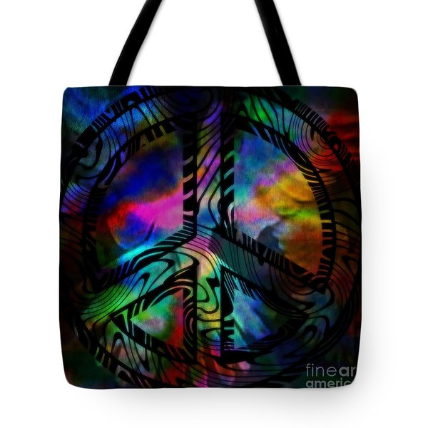 Peace #1 Tote Bag by WBK