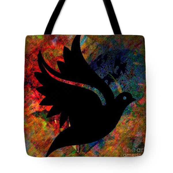 Peace #12 Tote Bag by WBK