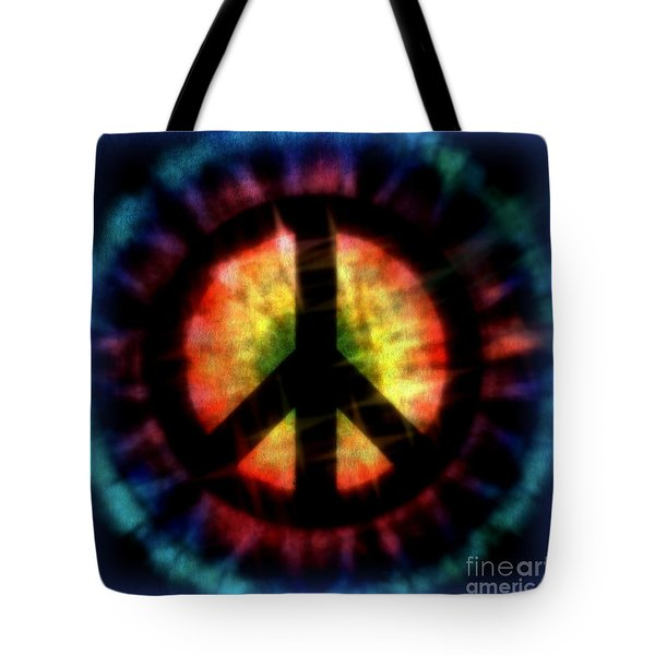 Peace #23 Tote Bag by WBK
