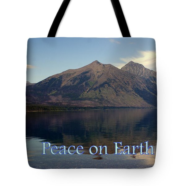 Peace On Earth 1 Tote Bag by Marty Koch