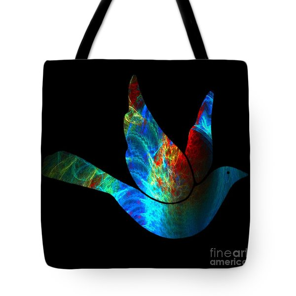 Peace Series #25 Tote Bag by WBK