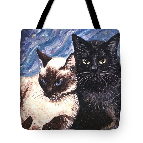 Peaceful Coexistence Tote Bag by Linda Mears