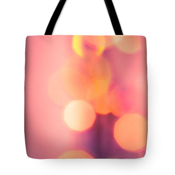 Peach Melba Tote Bag by Jan Bickerton