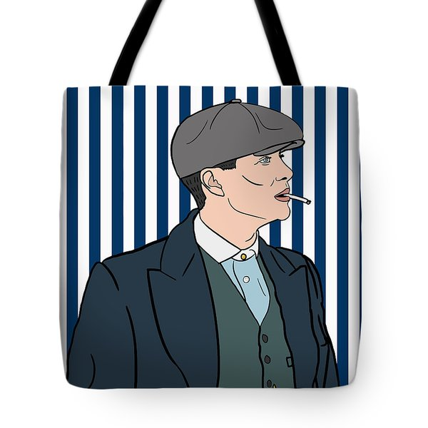 Peaky Blinders Tote Bag by Nicole Wilson
