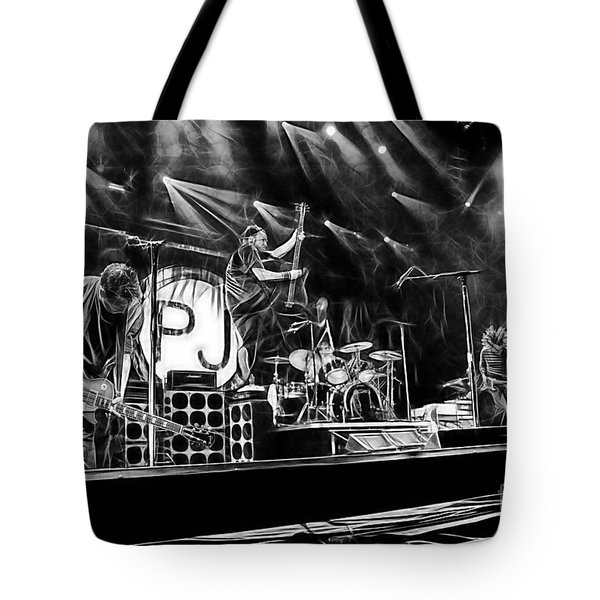 Pearl Jam Collection Tote Bag by Marvin Blaine