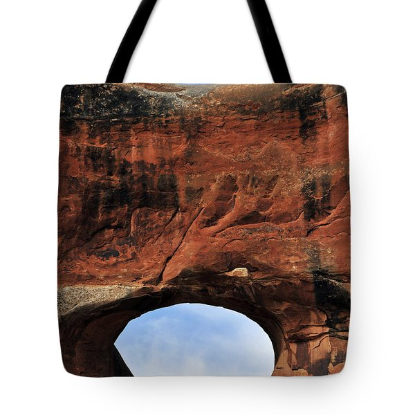 Peek A Boo Tote Bag by Skip Hunt