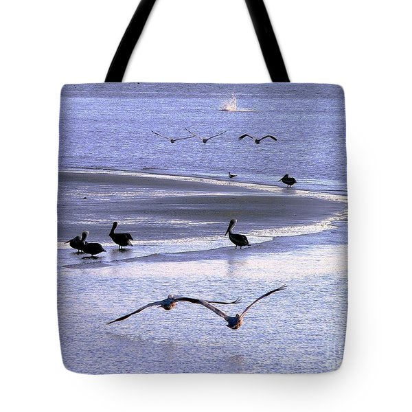 Pelican Island Tote Bag by Al Powell Photography USA