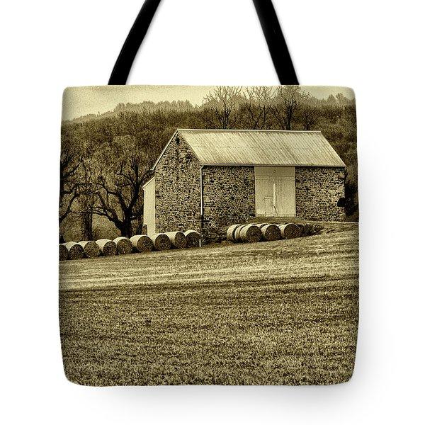 Pennsylvania Barn Tote Bag by Bill Cannon