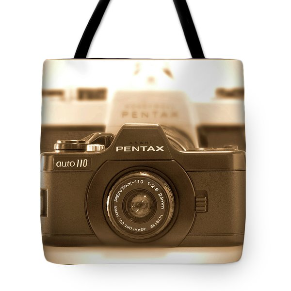 Pentax 110 Auto Tote Bag by Mike McGlothlen