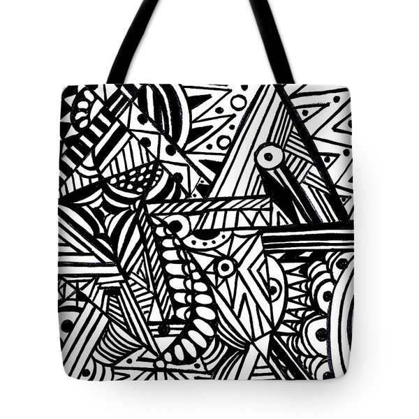 Perception Tote Bag by WBK