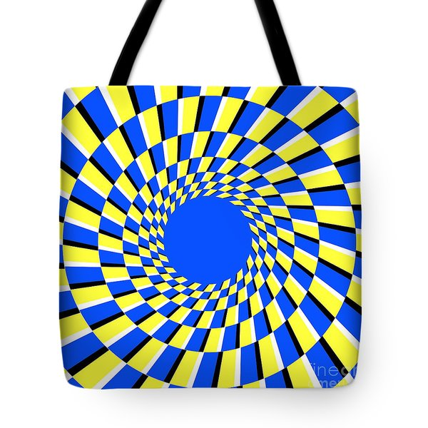 Peripheral Drift Illusion Tote Bag by SPL and Photo Researchers