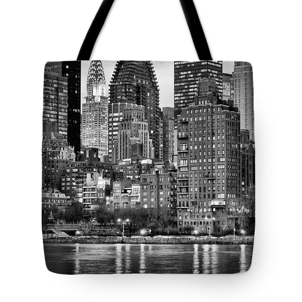 Perspectives V BW Tote Bag by JC Findley