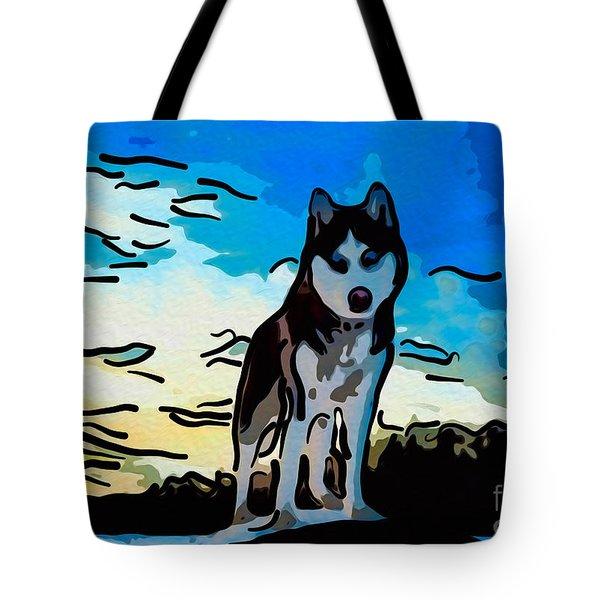 Pet Gone Wild Tote Bag by Omaste Witkowski