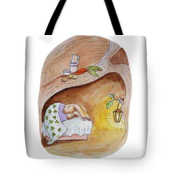 Peter Rabbit  Tote Bag by Irina Sztukowski