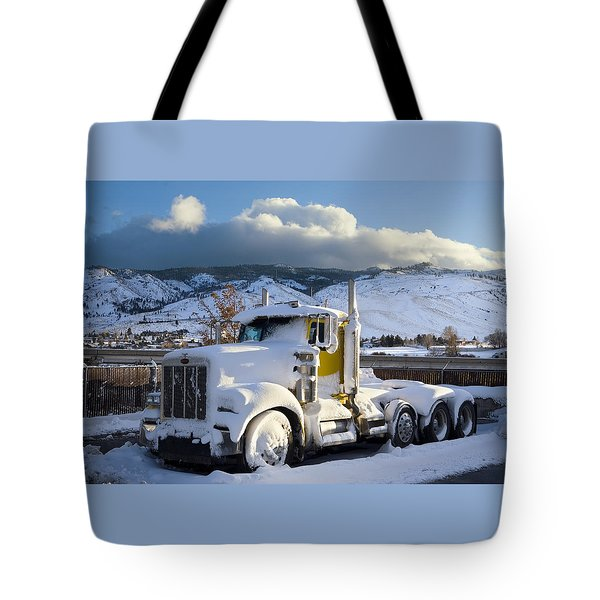 Peterbilt Tote Bag by Daniel Furon
