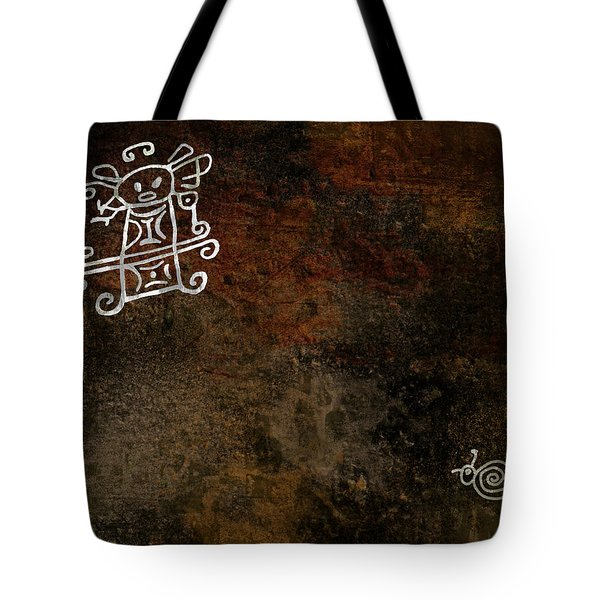 Petroglyph 8 Tote Bag by Bibi Romer