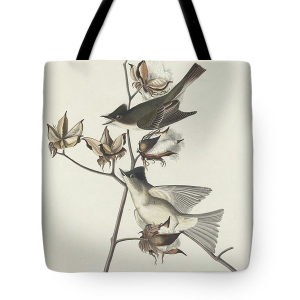 Pewit Flycatcher Tote Bag by John James Audubon