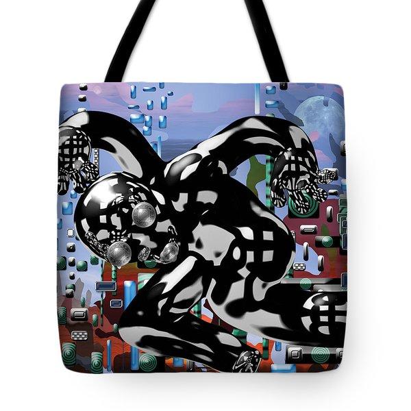 Phantom Tote Bag by Marko Mitic