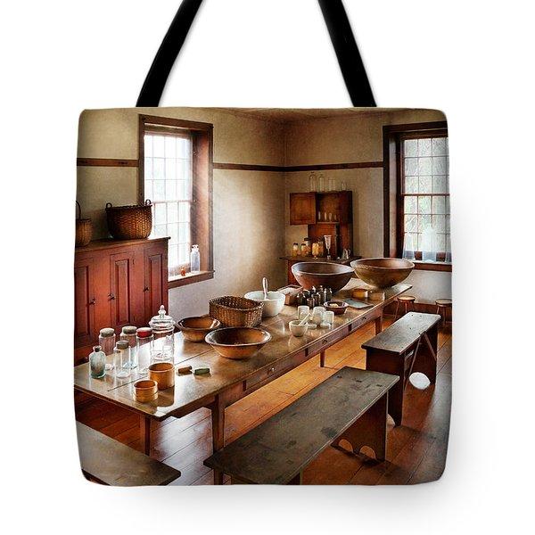 Pharmacist - Pharmacy School Tote Bag by Mike Savad