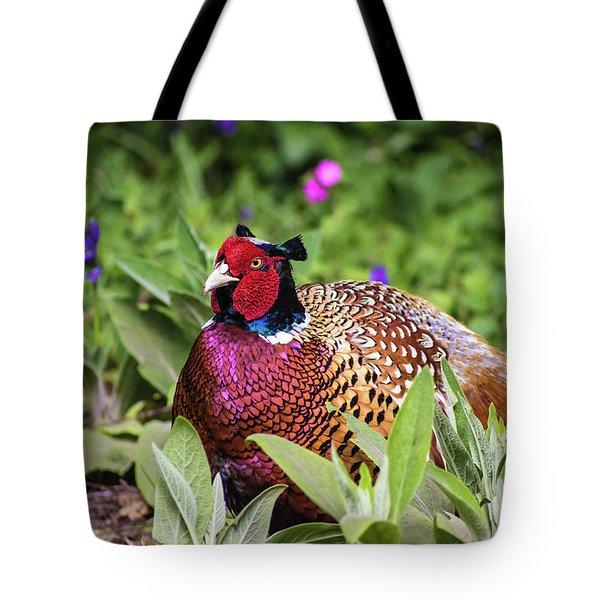 Pheasant Tote Bag by Martin Newman