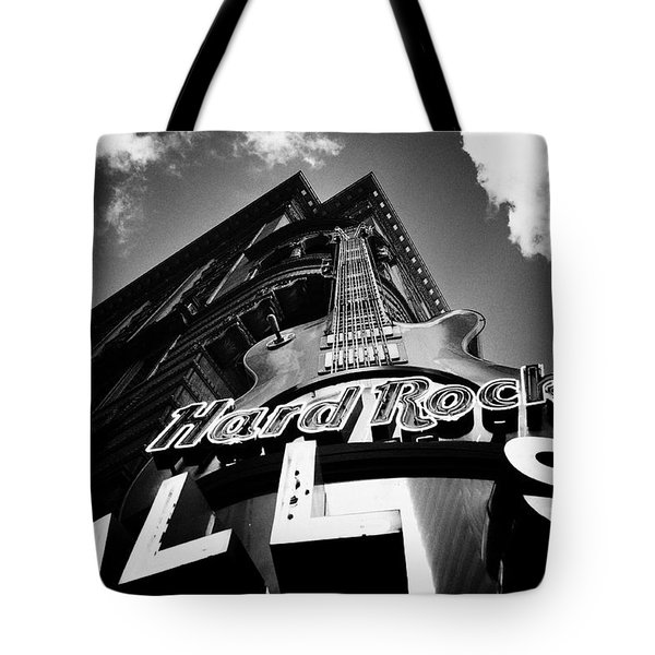 Philadelphia Hard Rock Cafe  Tote Bag by Bill Cannon