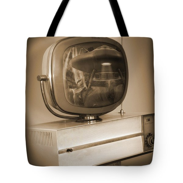 Philco Television  Tote Bag by Mike McGlothlen