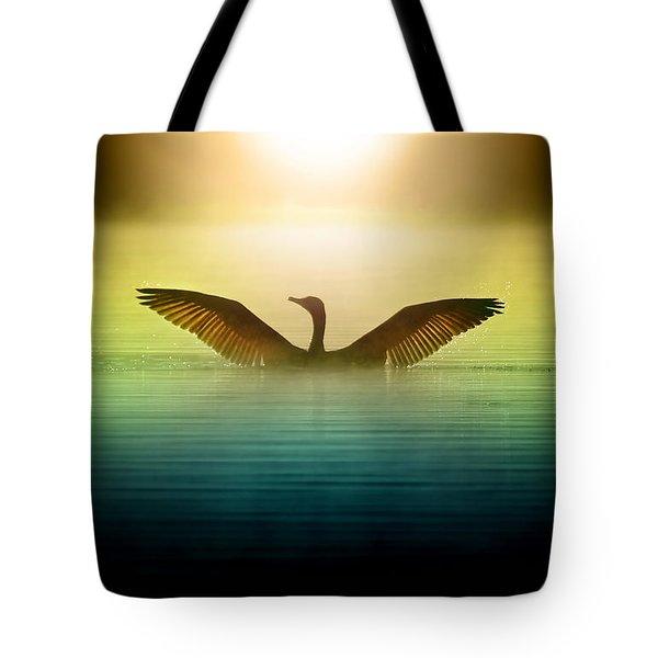 Phoenix Rising Tote Bag by Rob Blair