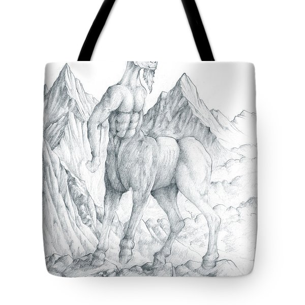 Pholus The Centauras Tote Bag by Curtiss Shaffer