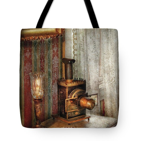 Photographer - The fun starts tonight Tote Bag by Mike Savad
