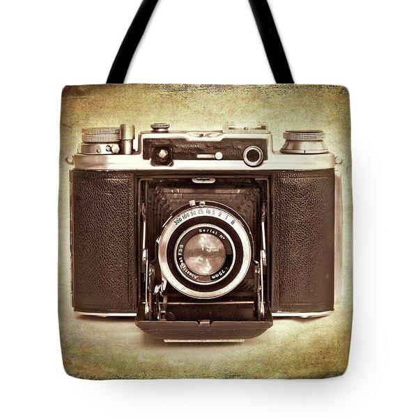 photographer's nostalgia Tote Bag by Meirion Matthias