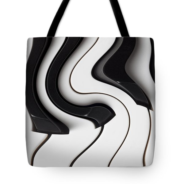 Piano Surrealism  Tote Bag by Garry Gay