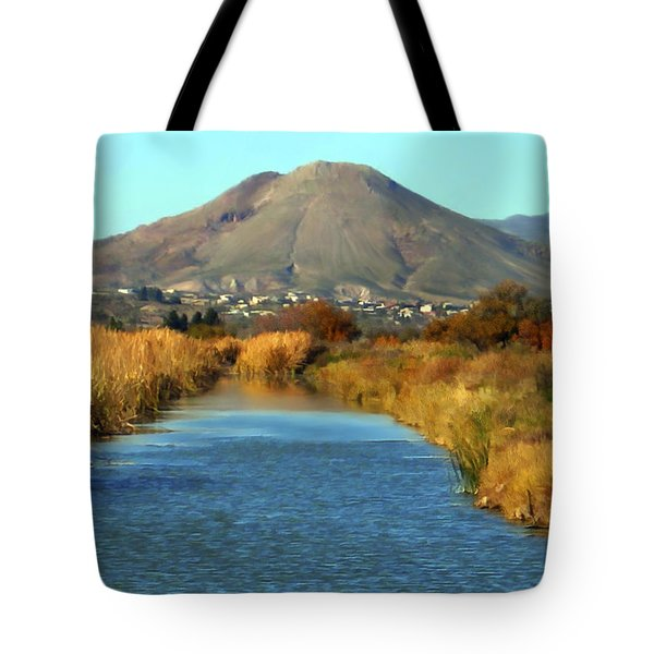 Picacho Peak Tote Bag by Kurt Van Wagner