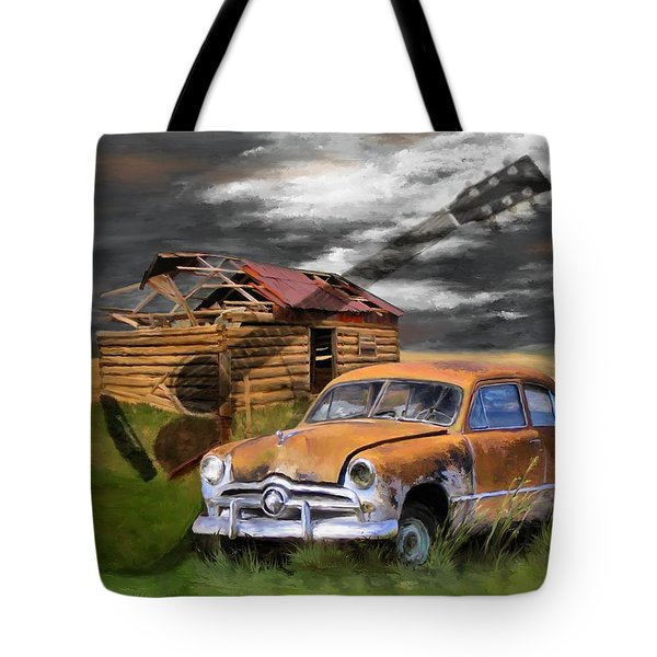 Pickin Out Yesterday Tote Bag by Susan Kinney