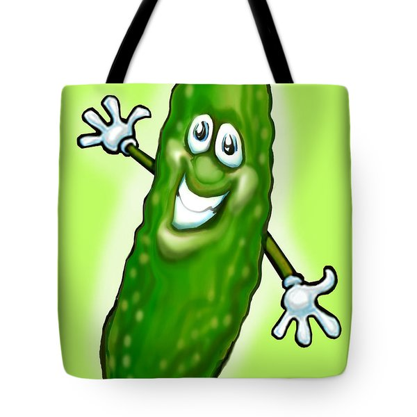 Pickle Tote Bag by Kevin Middleton