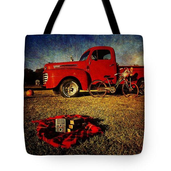 Picnic Time 2 Tote Bag by Toni Hopper
